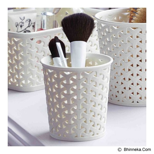CURVER My Style Round Small Organisers [218653] - Alm Silver - Container